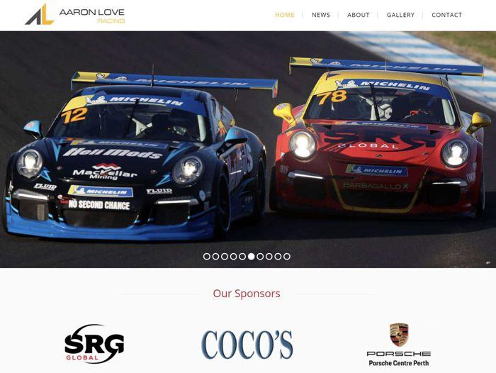 aaron love racing