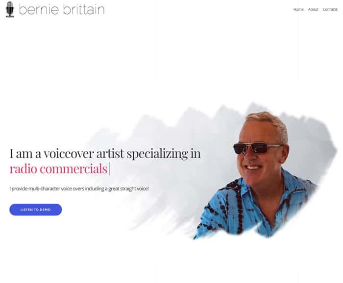 Web Design for Bernie Brittain