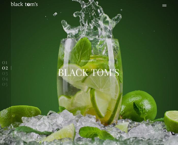 Web Design for Black Toms