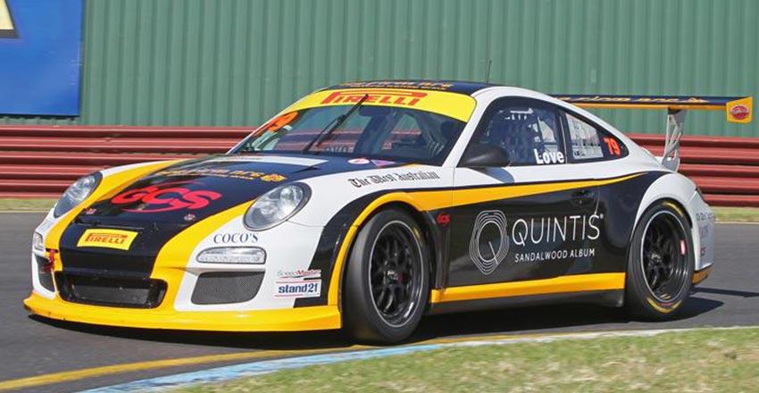 Jordan love racing retains Slinky