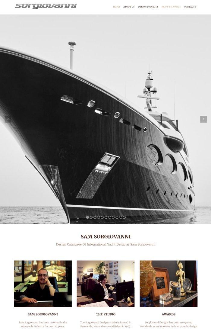 Design for sam sorgiovanni