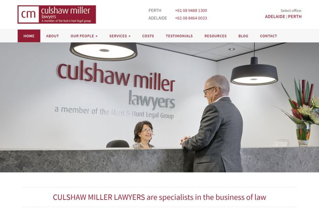 SEO Case Study for Culshaw Miller Legal Group