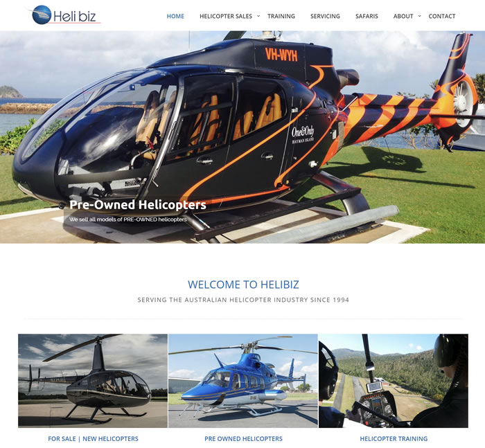 Website For Helibiz