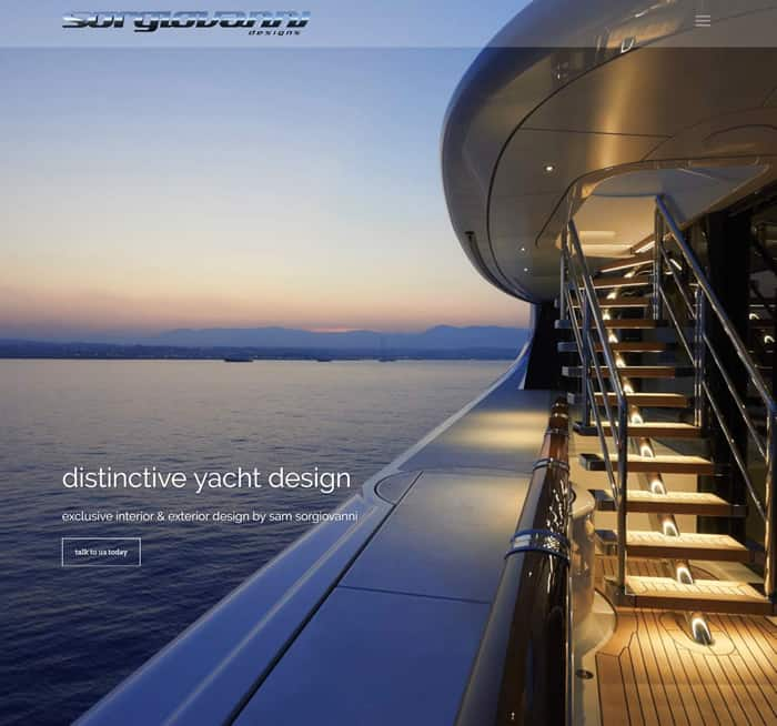 Web Design for Sorgiovanni Designs